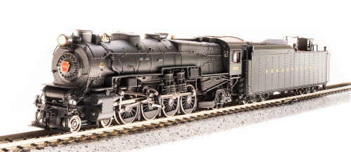 Broadway Limited 3072  PRR M1a 4-8-2, #6743, Pre-War Version, Paragon2 SoundDCDCC, N Scale