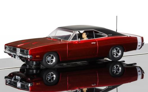 Scalextric C3652 Dodge Charger  Candy Apple Red