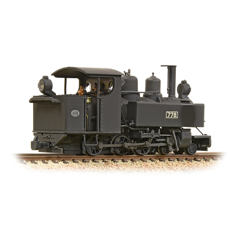 Bachmann Branchline   Baldwin Class    In Ww Rod Black Weathered Woodpecker Model Railways