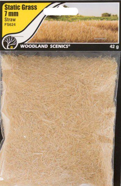 Woodland Scenics FS620 4mm Static Grass Straw 42 gram Bag